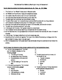 """Washington Irving: """"The Devil and Tom Walker"""" Assessment with Answer Key"""