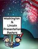 Washington Lincoln Posters