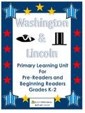 Washington-Lincoln Primary Social Studies Unit Worksheets
