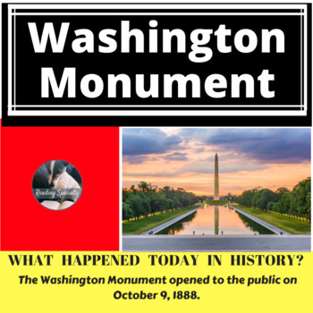 Washington Monument Differentiated Reading Passage