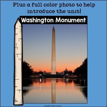 Washington Monument Mini Book for Early Readers: American Symbols