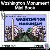 Washington Monument Mini Book for Early Readers: American Symbols