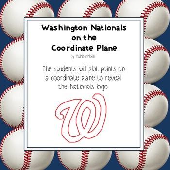 Washington Nationals Logo on the Coordinate Plane