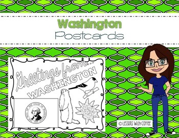 Washington Postcard - Classroom Postcard Exchange