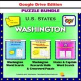 Washington Puzzle BUNDLE - Word Search & Crossword - U.S. States - Google
