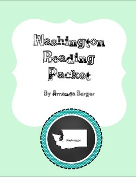Washington Reading Packet
