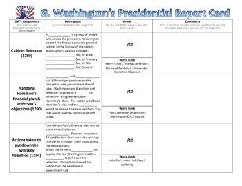 Washington Report Card