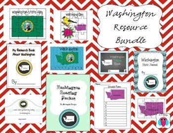Washington Resource Bundle=10 Resources