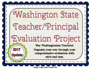 Washington St. TPEP Criteria & Evidence Tool for the Comp Eval.