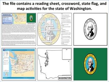 Washington - State Activity Set