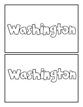 Washington State Book