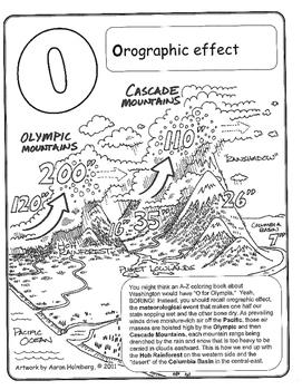 Washington State Coloring Book 2/3