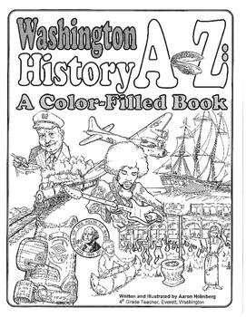 Washington State Coloring Book 1/3