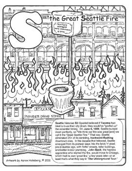 Washington State Coloring Book 3/3