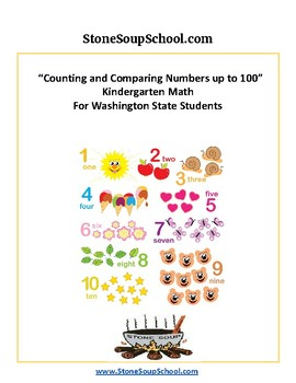 K - Washington State - Common Core - Counting and Comparing Numbers up to 100