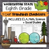 """Washington State Eighth Grade """"I Can"""" Learning Standards C"""