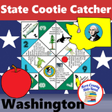 Washington State Facts and Symbols Cootie Catcher Distance