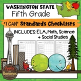 "Washington State Fifth Grade ""I Can"" Learning Standards Ch"