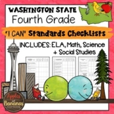 """Washington State Fourth Grade """"I Can"""" Learning Standards C"""