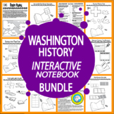 Washington State History Interactive Notebook Bundle – EIGHT Lessons