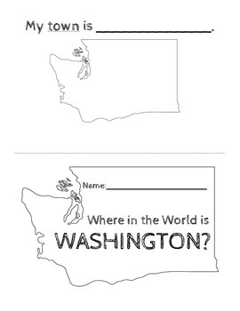 Washington State History  {Lesson 1 Where in the World is Washington}