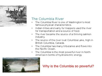 Washington State History/Pacific Northwest History Geography/ Geology PowerPoint