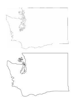 Washington State History/Geography {Lesson 2: Landforms and Landmarks}