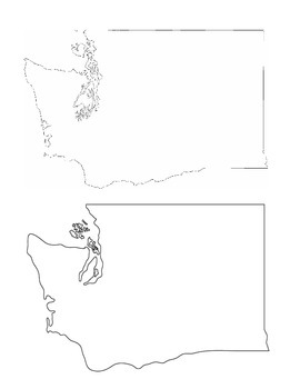 Washington State History/Geography {Lesson 2: Landforms an