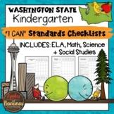 "Washington State Kindergarten ""I Can"" Learning Standards C"
