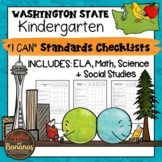 "Washington State Kindergarten ""I Can"" Learning Standards C"