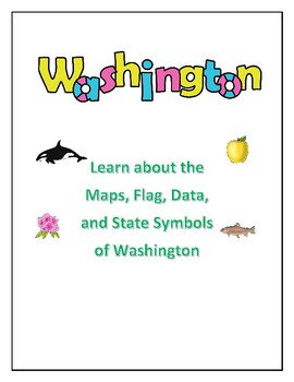 Washington State Maps, Flag, Data, and Geography Assessment | TpT