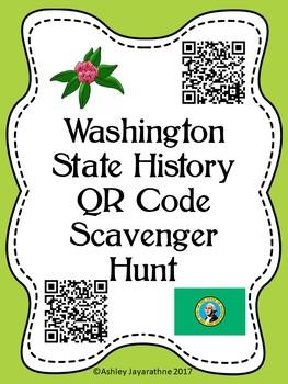 Washington State QR Code Scavenger Hunt