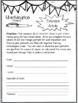 Washington State Research Report Project Template + bonus timeline Craftivity WA