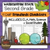 "Washington State Second Grade ""I Can"" Learning Standards Checklists"