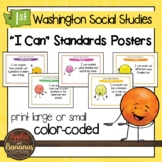 Washington State Social Studies - First Grade Learning Sta