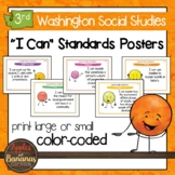 Washington State Social Studies - Third Grade Learning Standards Posters