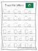Washington State Symbols themed A-Z Tracing Preschool Handwriting Worksheets.