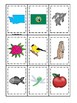 Washington State Symbols themed Memory Match Preschool Educational Card Game