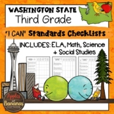 "Washington State Third Grade ""I Can"" Learning Standards Ch"