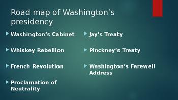 Washington Takes Office