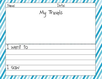 Washington Travel Journal