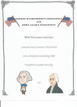 Washington Vs Adams