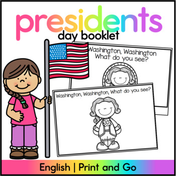 Washington Washington What do you see? - Presidents Day