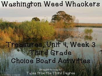 Washington Weed Whackers Reading and Writing Response Choi