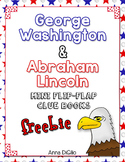 Washington and Lincoln Flip Flap Books® for Notebooking or Lapbooks