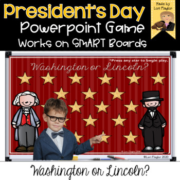 Washington or Lincoln Powerpoint Game
