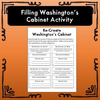Washington's Cabinet Activity