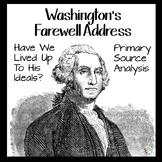 George Washington's Farewell Address Primary Source Analysis