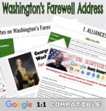 Washington's Farewell Address: Complete Google Ready Lesso