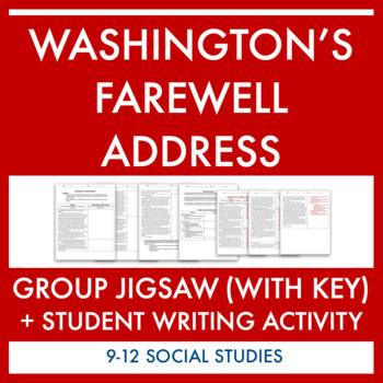 Washington's Farewell Address Group Activity